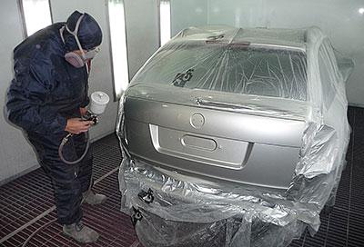 Cena lakování dveří auta
